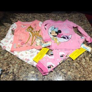 NWT Girls Disney pajamas